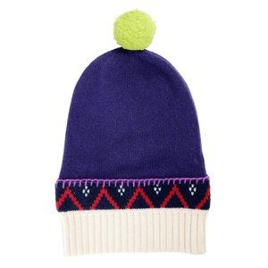 Burberry Unisex Cashmere Wool Pompon Beanie Hat